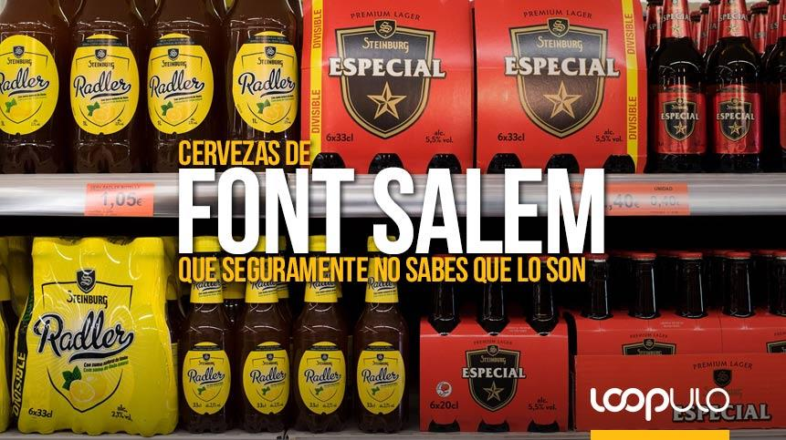 Cervezas de Font Salem que seguramente no sabes que lo son