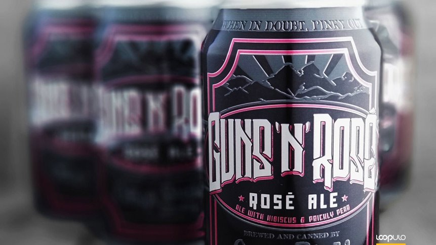 Guns N' Roses demanda a la cervecera Oskar Blues Brewery por su Guns 'N' Rosé – Loopulo