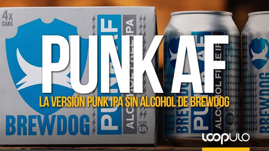 Punk AF, la versión sin alcohol de la Punk IPA de BrewDog