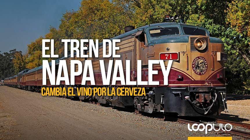 El tren del vino de Napa Valley se convierte en el tren cervecero