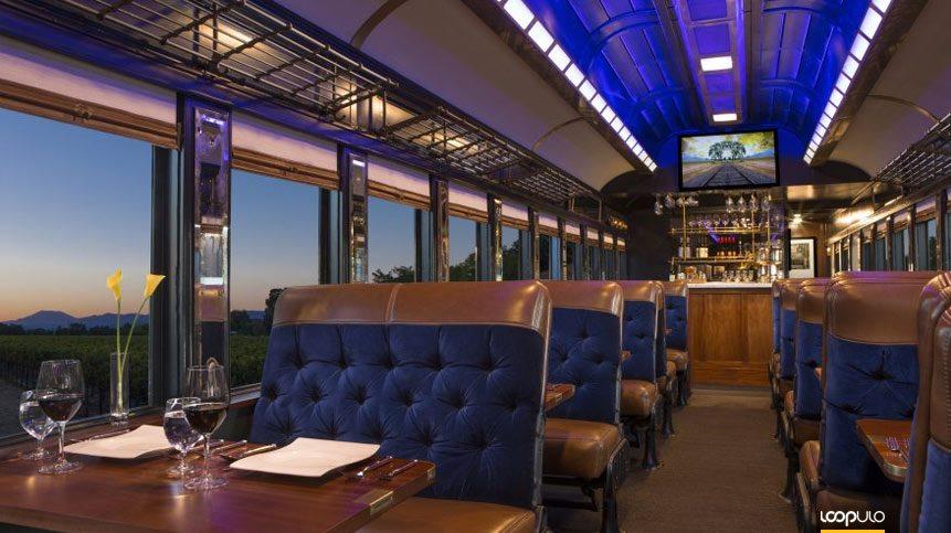El tren del vino de Napa Valley se convierte en el tren cervecero – Loopulo