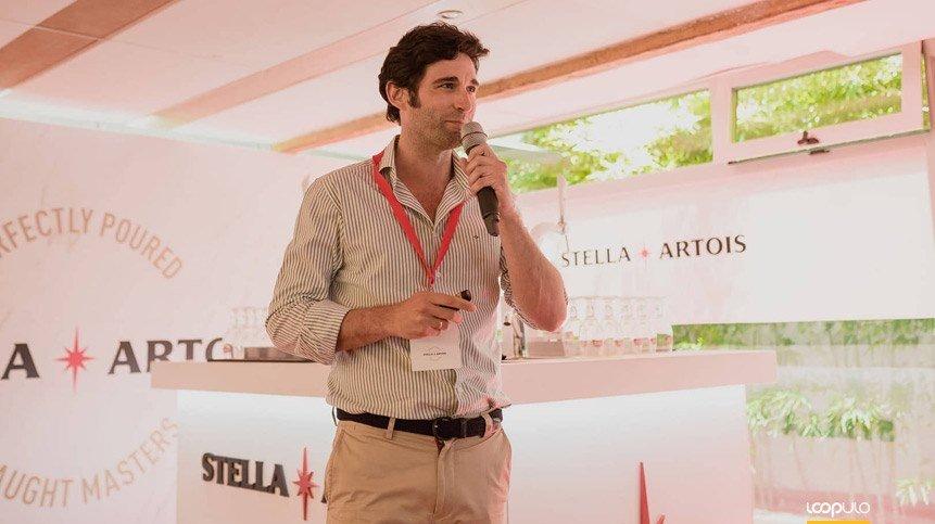 Borja Echániz, Director del canal horeca en AB InBev España – Loopulo
