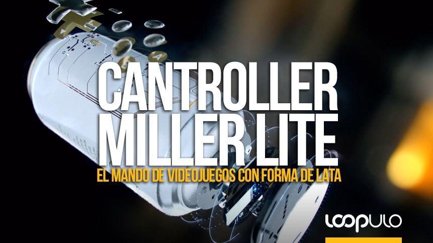El mando de videojuegos que también es una lata de Miller Lite