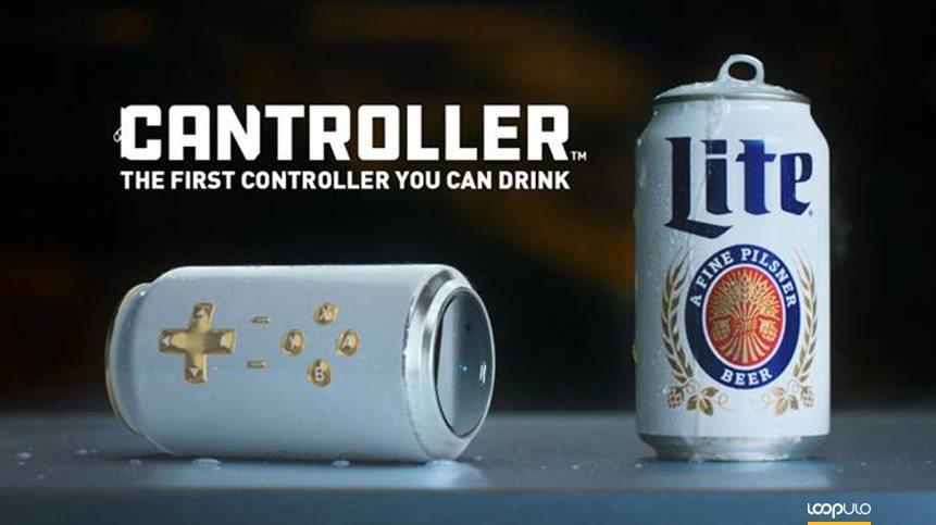 Cantroller Miller Lite, el mando de videojuegos con forma de lata – Loopulo