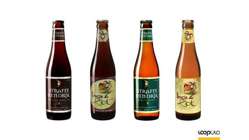 Straffe Hendrik y Brugse Zot, las cervezas de De Halve Maan – Loopulo