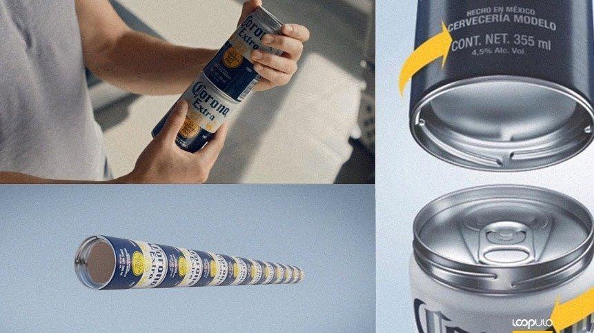 Fit Pack: Corona reinventa sus latas para acabar con el plástico – Loopulo