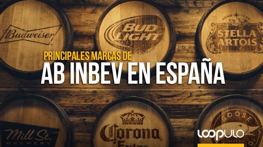 ¿Cuáles son las principales marcas de AB InBev en España?