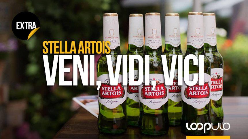 'Veni, vidi, vici': Stella Artois, la cerveza belga más vendida del mundo, conquista España en un evento único