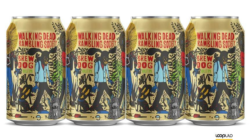 Walking Dead Rambling Society, la Brut IPA de BrewDog – Loopulo