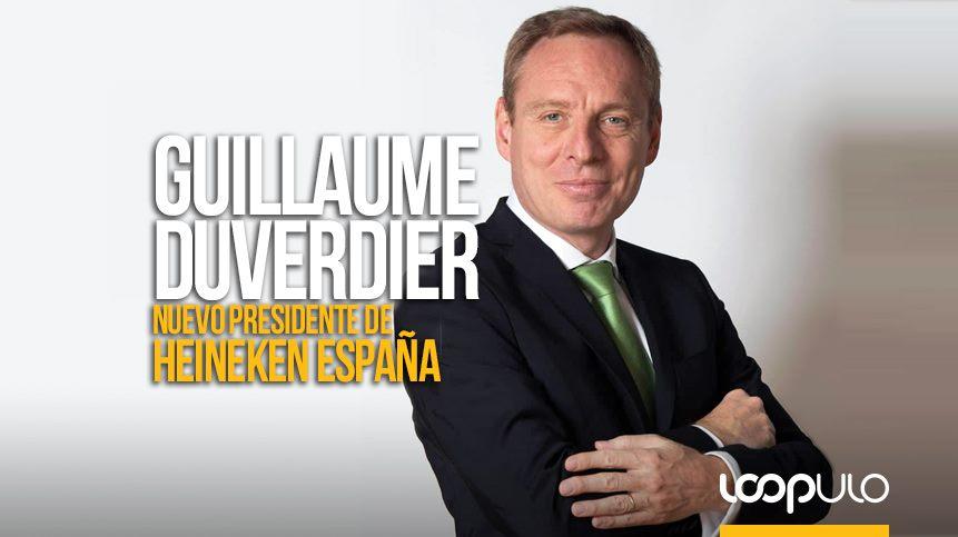 Guillaume Duverdier, nuevo presidente de Heineken España