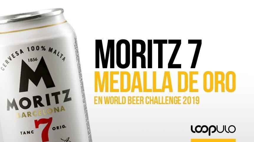 Moritz 7, medalla de oro en el World Beer Challenge 2019