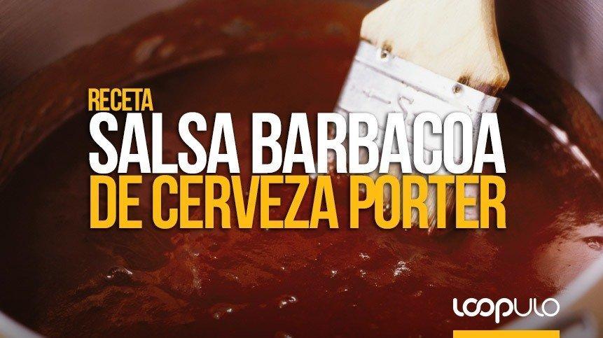Receta de salsa barbacoa con cerveza Porter