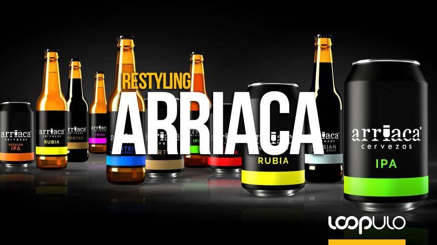 Arriaca aborda un restyling en sus envases en lata y en botella