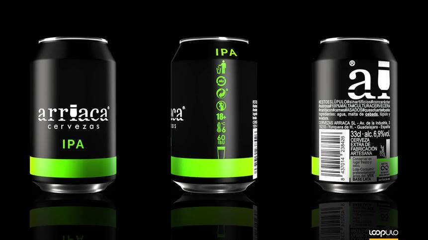 Arriaca aborda un restyling en sus envases en lata y en botella – Loopulo