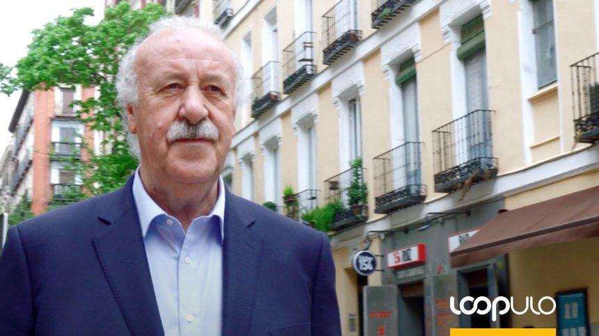 Vicente del Bosque promueve el consumo cero de alcohol en menores