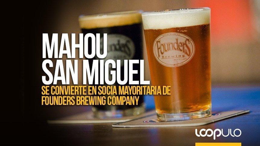 Mahou San Miguel se convierte en socia mayoritaria de Founders Brewing Company