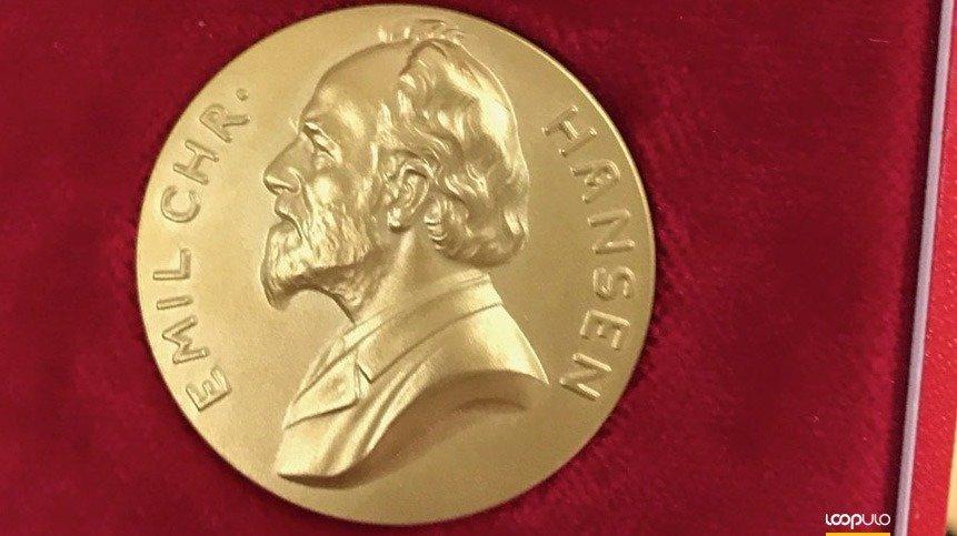 Jens Nielsen recibe la Medalla de oro Emil Christian Hansen – Loopulo