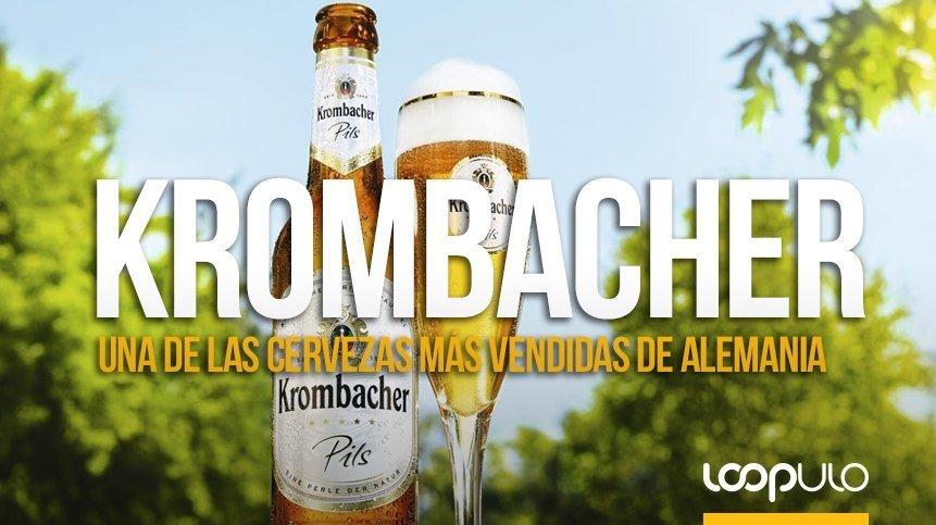 Krombacher Pils, una de las cervezas más vendidas de Alemania