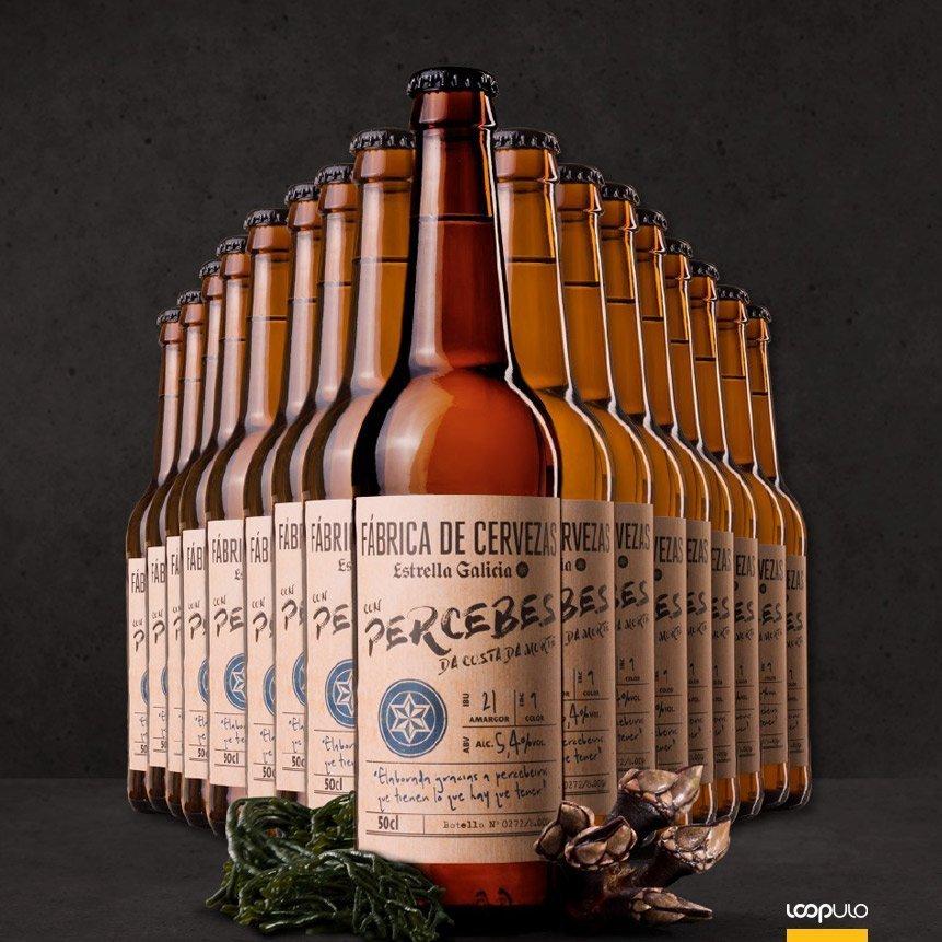 ¿Una cerveza con PERCEBES? Aún estás a tiempo de probarla – Loopulo