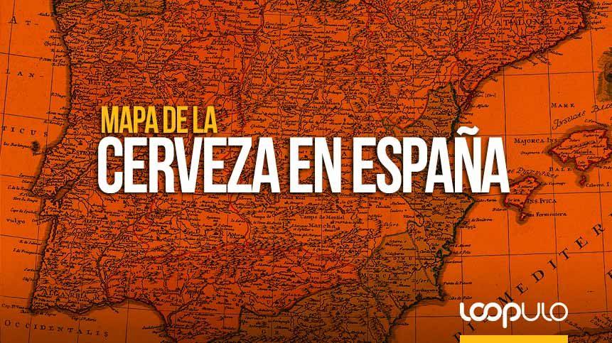 Mapa de la cerveza en España ¿cuál es la cerveza preferida de los españoles?