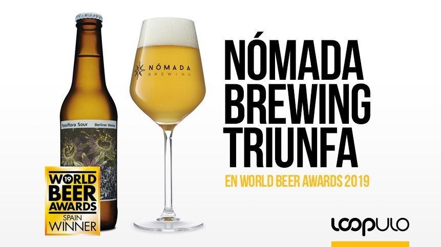 Nómada Brewing obtiene 5 premios en el World Beer Awards 2019 de Londres