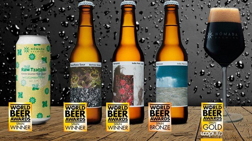 Nómada Brewing obtiene 5 premios en el World Beer Awards 2019 de Londres – Loopulo