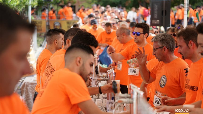 Más de 1.000 personas participaron en la Beer Runners de Jaén – Loopulo