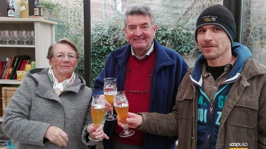 Alfredo Franco celebrando la jubilación de Philippe – Loopulo