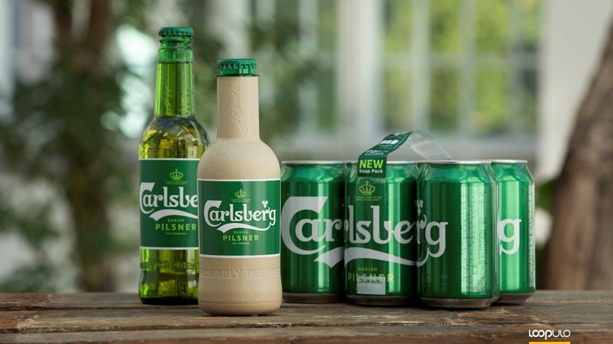 "Green Fiber Bottle, la ""botella de papel"" de Carlsberg – Loopulo"