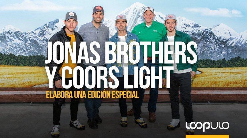 Jonas Brothers y Coors Light se unen para elaborar cerveza de edición limitada