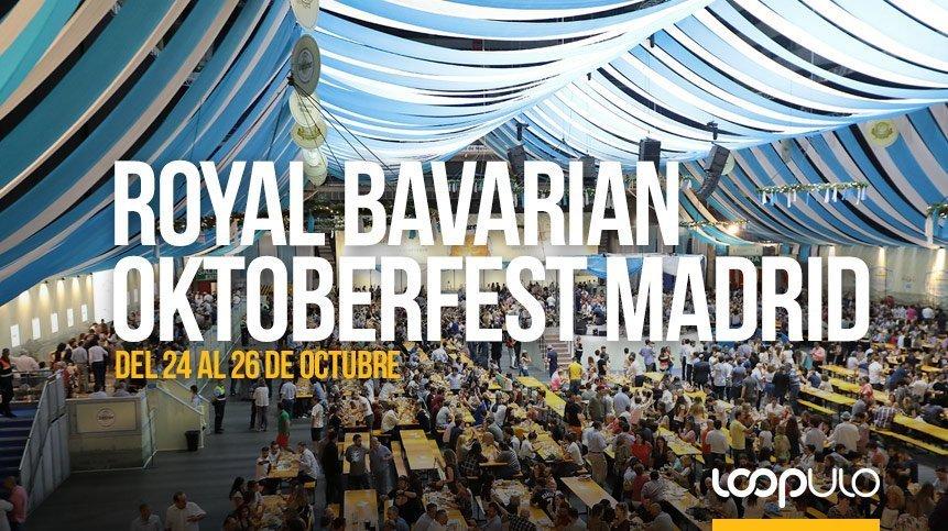 Royal Bavarian Oktoberfest Madrid vuelve al WiZink Center de Madrid, del 24 al 26 de octubre – Loopulo