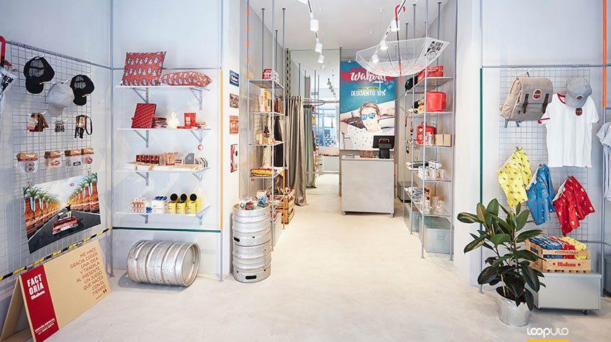 Wahou by Mahou, la tienda lifestyle de la cervecera en Madrid – Loopulo