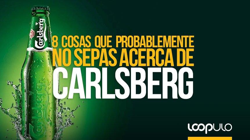 8 cosas que probablemente no sepas acerca de Carlsberg