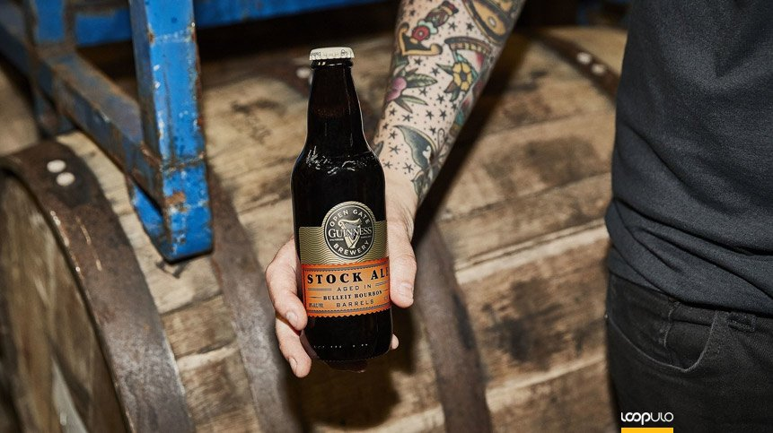 Guinness Stock Ale Bourbon Barrel-Aged, elaborada en Baltimore – Loopulo