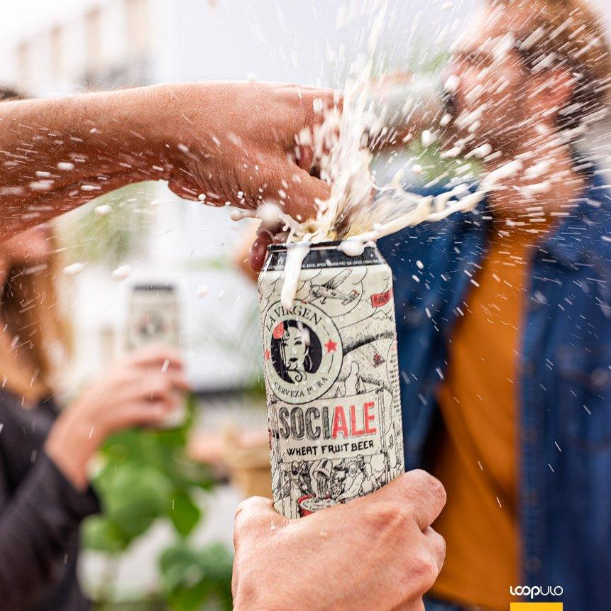 SociAle, una American Wheat Ale elaborada por 15.000 personas – Loopulo