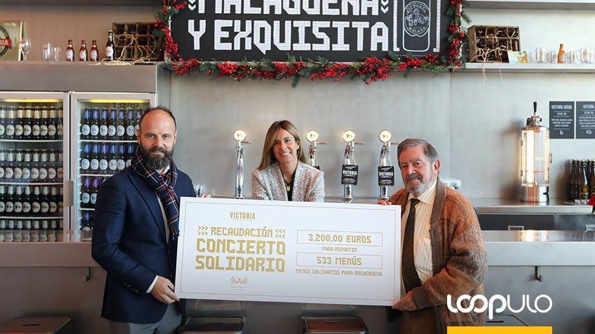 Cervezas Victoria dona 3.200€ a los Ángeles Malagueños de la Noche