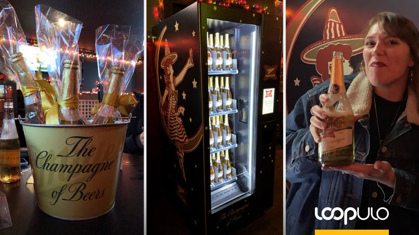 La Vending Machine de Miller High Life llega a New York