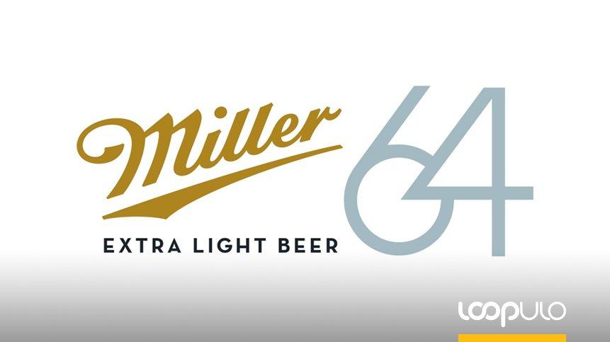 Miller64, una lager extra light con tan solo 64 calorías