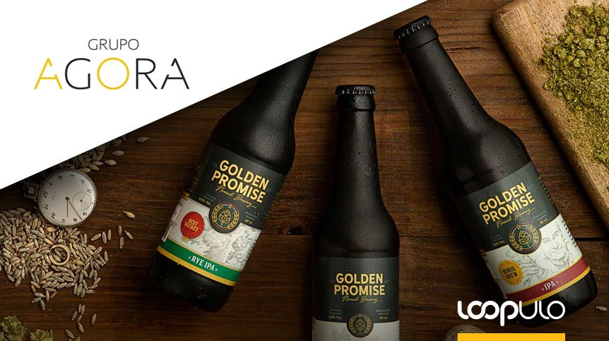 Grupo Agora distribuirá la craft zaragozana Golden Promise – Loopulo