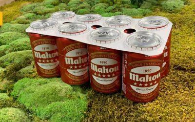 Mahou San Miguel también elimina el plástico de sus envases