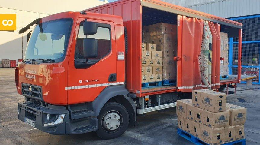 Victoria dona 33.000 botellas de agua mineral a hospitales de Málaga – Loopulo