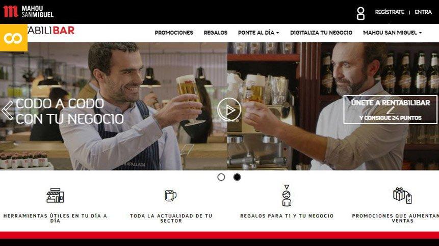 Mahou San Miguel apoya a la Hostelería con Rentabilibar – Loopulo