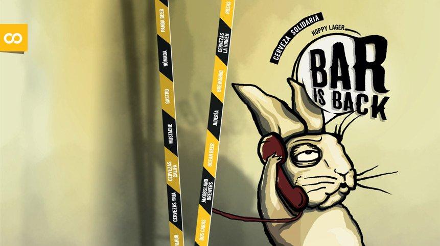 BARisBACK, la hoppy lager colaborativa y solidaria que se elaborará en el Brew&Hub de Mahou San Miguel – Loopulo