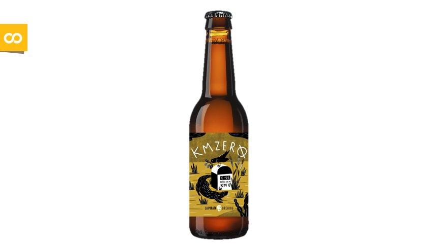 KM ZERØ, de La Pirata Brewing – Loopulo