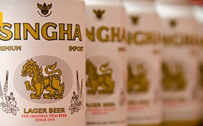 Singha, la cerveza más antigua de Tailandia