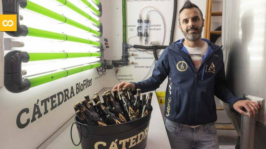 Una cervecera craft crea un fotobiorreactor que elimina el CO2 | Loopulo