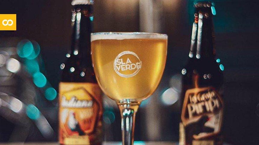 Cerveza artesanal canaria Isla Verde | Loopulo