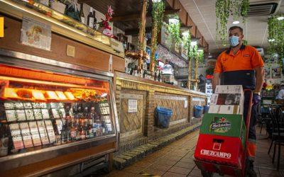 Bares de toda España reciben ya millones de productos de #FUERZABAR