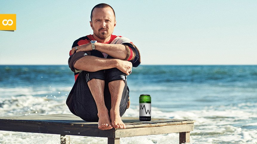 Esta es la cerveza preferida de Aaron Paul, actor de Breaking Bad – Loopulo