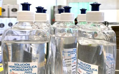 Fundación Cruzcampo facilita a bares y restaurantes de Sevilla y Málaga 13.000 botellas de solución hidroalcohólica